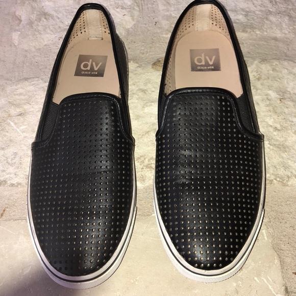 Dolce Vita Shoes | Black Gibson Slip